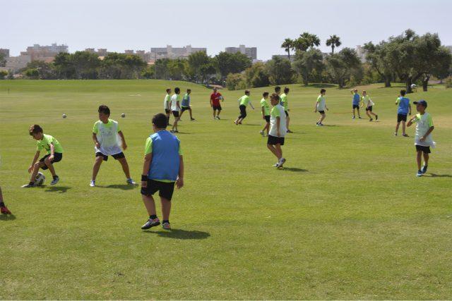 Actividades Aire Libre campus futbol alicante
